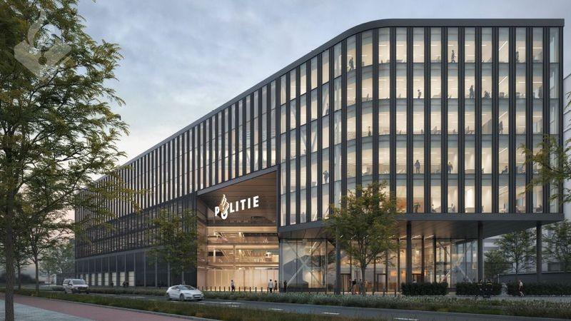 Definitief ontwerp nieuwe hoofdbureau politie-eenheid Den Haag gereed