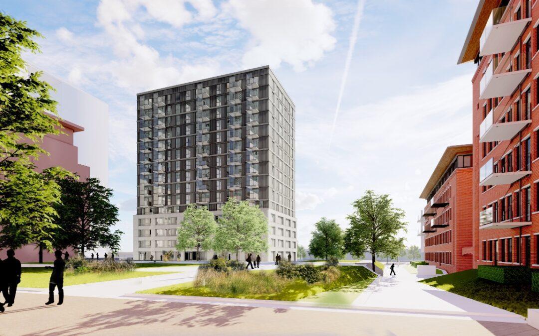 140 sociale huurwoningen op het Maanplein in Den Haag