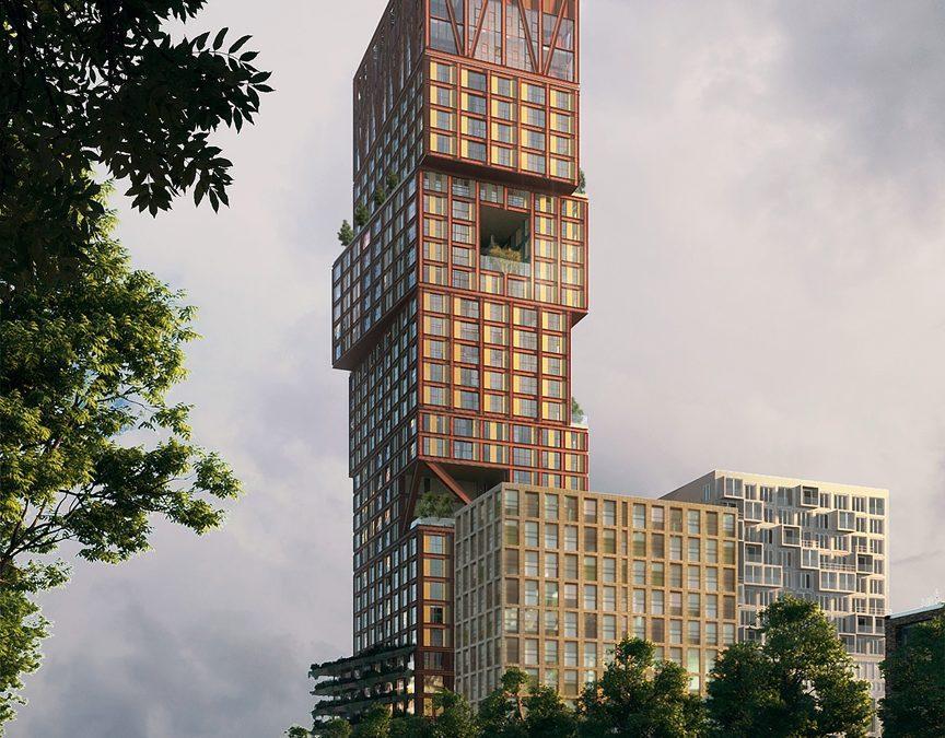 De Binckhorst krijgt een verticale stadswijk