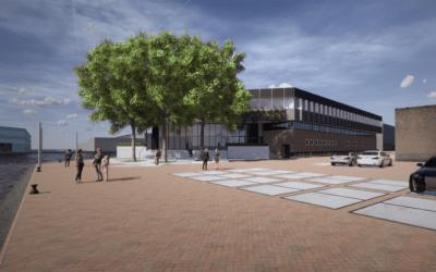 De Titaan wordt de plek voor de nieuwe bedrijvigheid in de Binckhorst