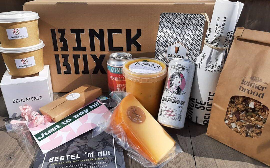 Ontdek de culinaire Binckhorst en bestel de BINCKBOX