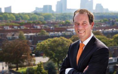 Boudewijn Revis vertrekt als wethouder gemeente Den Haag