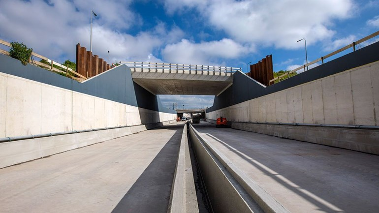 Rotterdamsebaan gaat een half jaar later open