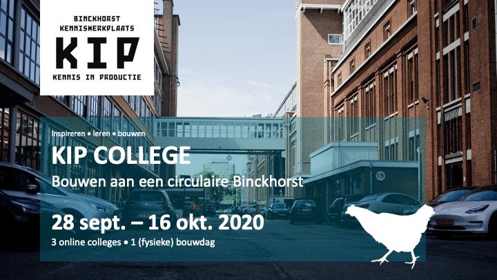 KIP College – Bouwen aan een circulaire Binckhorst