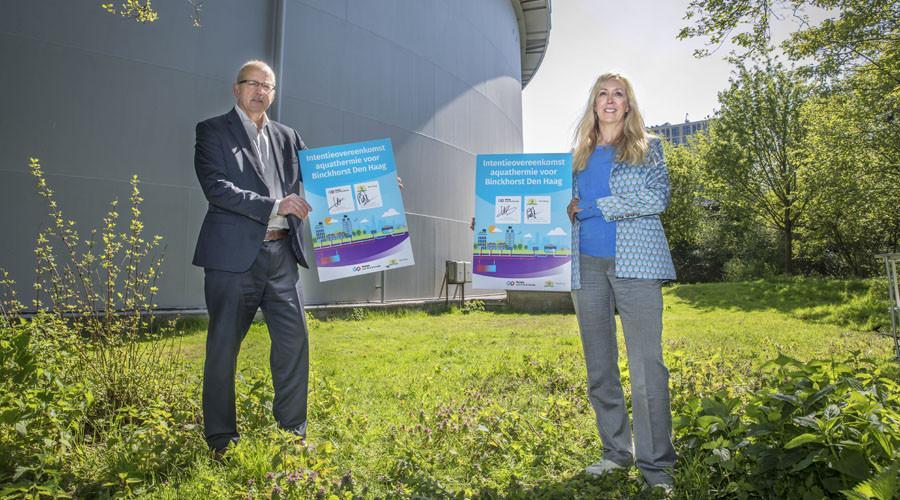 Duurzame warmte uit drinkwater voor nieuwbouw Binckhorst