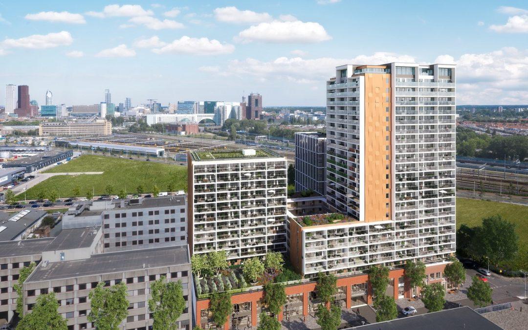 Staedion en Nu realiseren 300 sociale huurwoningen in de Binckhorst