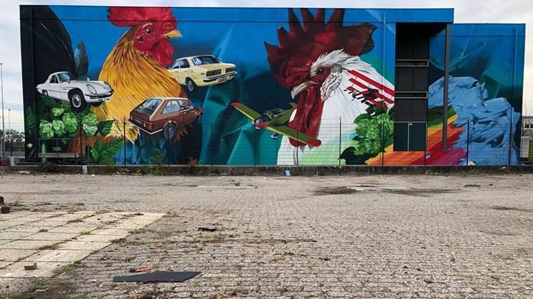 Street Art Route door de Binckhorst