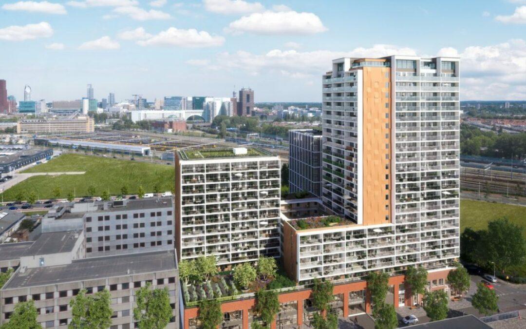 Nieuwbouw 300 sociale woningen in de Binckhorst gestart